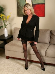 AllOver30 – Busty Blonde MILF Bridgette