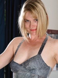 AllOver30 – Natural Blonde Brittany Is Cute and Horny