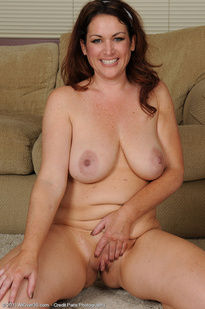 Busty MILF Ryan From AllOver30 Works Out Her Curvy Body ...